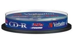 Verbatim CD-R 52x 10pk Spindle