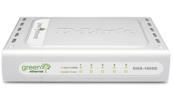D-Link 5-port 10/100/1000 Desktop Switch