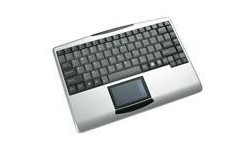 Adesso Wireless 2.4 GHz RF Mini Touchpad Keyboard