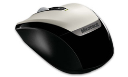 Microsoft Wireless Mobile Mouse 3000 White
