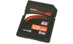 Sandisk SDHC Ultra II Video HD 8GB