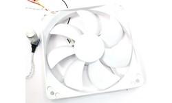 Scythe Kaze-White LED With VR 120mm