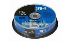 Intenso DVD+R DL 8x 10pk Spindle