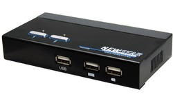 NewStar KVM Switch for 2 PC USB