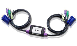 Aten 2-Port PS/2 VGA/Audio Cable KVM Switch (1.2m)