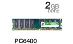 Corsair ValueSelect 2GB DDR2-800 CL5