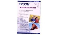 Epson Premium Glossy Photo Paper A3+ 20 Sheets