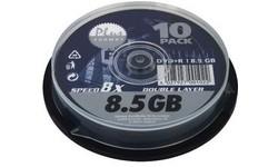 Platinum DVD+R DL 8x 10pk Spindle