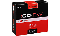 Intenso CD-RW 12x Jewel case