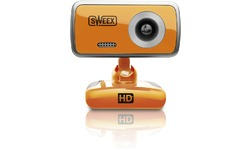 Sweex WC063 Webcam Orange