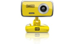 Sweex WC064 Webcam Yellow