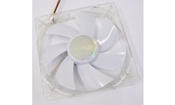 Akasa White LED Quiet Fan 120mm