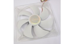 Akasa White LED Quiet Fan 140mm