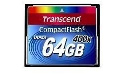 Transcend Compact Flash 64GB 400x