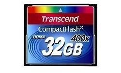 Transcend Compact Flash 32GB 400x