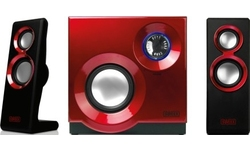 Sweex 2.1 Speaker System Purephonic 60W Red