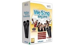We Sing, Encore + 2 Microphones (Wii)
