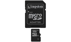Kingston Class 4 MicroSDHC 16GB + Adapter