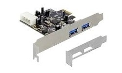 Delock 2-port USB 3.0 PCI-Express Adapter