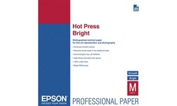 Epson Hot Press Bright A3+ 25 sheets