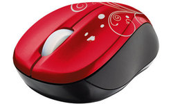 Trust Wireless Mouse Vivy Red