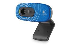 Logitech HD Webcam C270 Blue Swirl