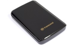 Transcend StoreJet 750GB Black