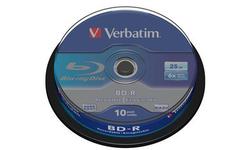 Verbatim BD-R 6x 10pk Spindle