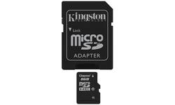 Kingston MicroSDHC Class 10 8GB + Adapter