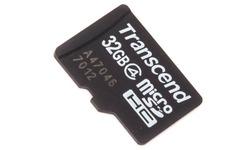 Transcend MicroSDHC Class 4 32GB + Adapter