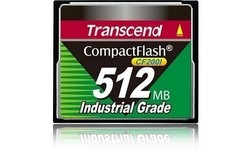 Transcend Compact Flash Industrial 200x 512MB