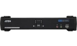 Aten 2-Port USB DVI Dual Link/CH7.1 Audio KVMP Switch