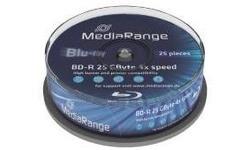 MediaRange BD-R 4x 25pk Spindle