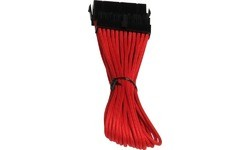 Bitfenix 24 Pin Extension 30 cm Red
