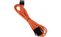 Bitfenix 8 Pin EPS12v Extension 45 cm Orange