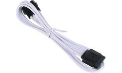 Bitfenix Molex To SATA Power Extension 45 cm White/Black
