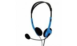 BasicXL Portable Stereo Headset Blue
