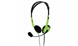 BasicXL Portable Stereo Headset Green