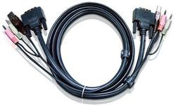 Aten 3M USB DVI-D Dual Link KVM Cable