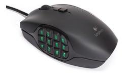Logitech G600 MMO Gaming Mouse Black