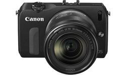 Canon Eos M Black 18-55mm kit