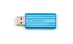 Verbatim Store 'n' Go PinStripe 32GB Blue