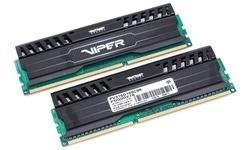 Patriot Viper 3 Black Mamba Edition 16GB DDR3-1600 CL9 kit