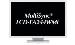 NEC MultiSync EA244WMI White
