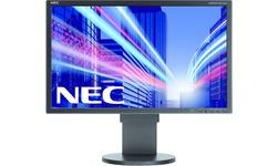 NEC MultiSync E223W Black