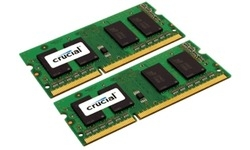 Crucial 16GB DDR3-1600 CL11 Sodimm kit