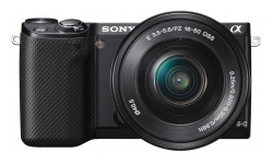 Sony NEX-5R 16-50mm kit Black