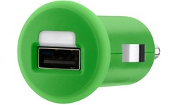 Belkin 1x1a Micro Car Charger Green