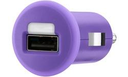 Belkin 1x1a Micro Car Charger Purple