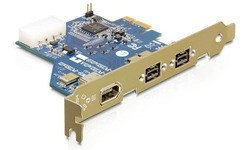 Delock 2-port FW800 + 1-port FW400 PCIe Card